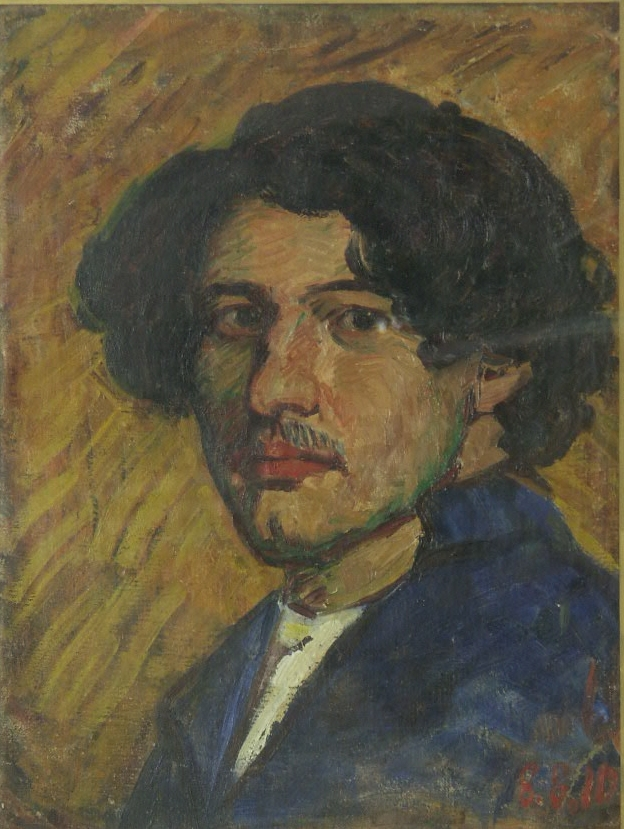 oil on canvas,  42x35, 1910 Georgian National Museum