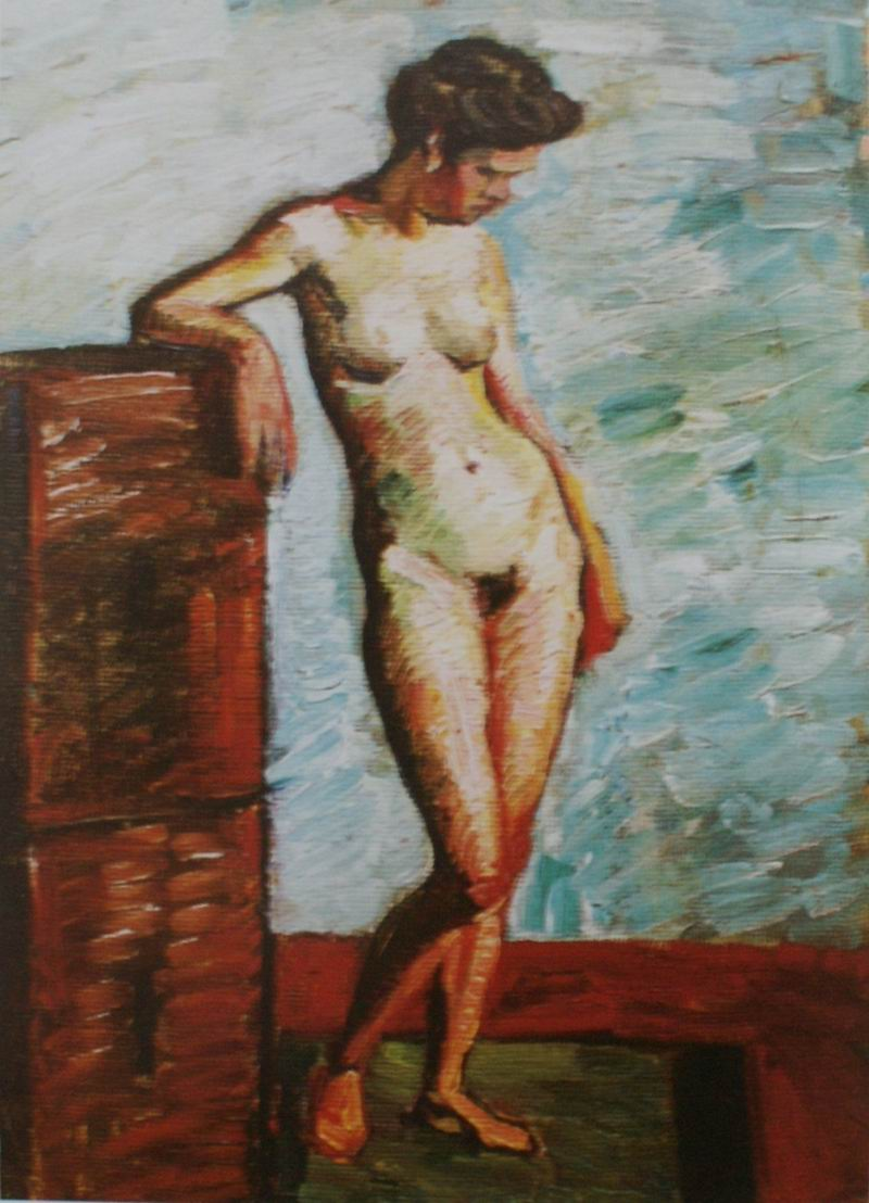 oil on carboard, 68X49, 1910s