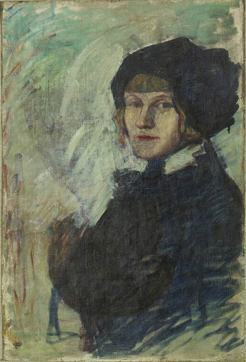 oil on canvas, 70X48, 1910s Georgian National Museum