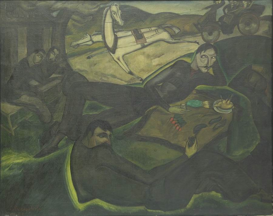 oil on canvas, 72,5X91, 1920 Georgian National Museum