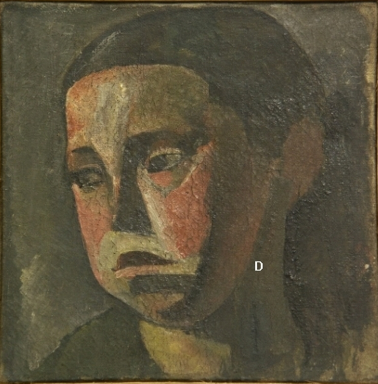 oil on canvas, 33.5x34 Georgian National Museum