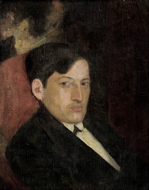 oil on canvas, 51x41, 1921, Georgian National Museum