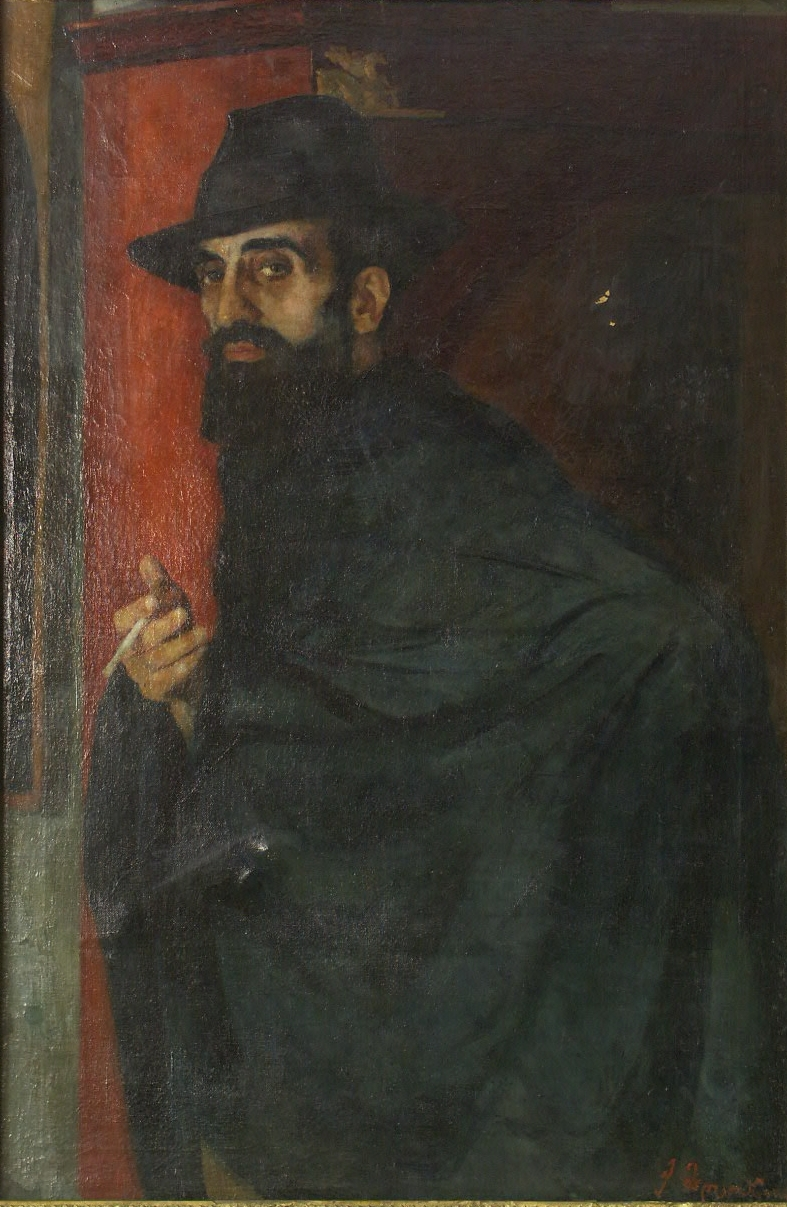 oil on canvas 105x69, 1922, Georgian National Museum