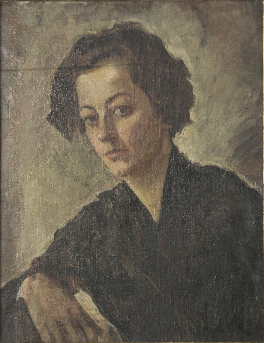 oil on canvas, 62X50, Georgian National Museum