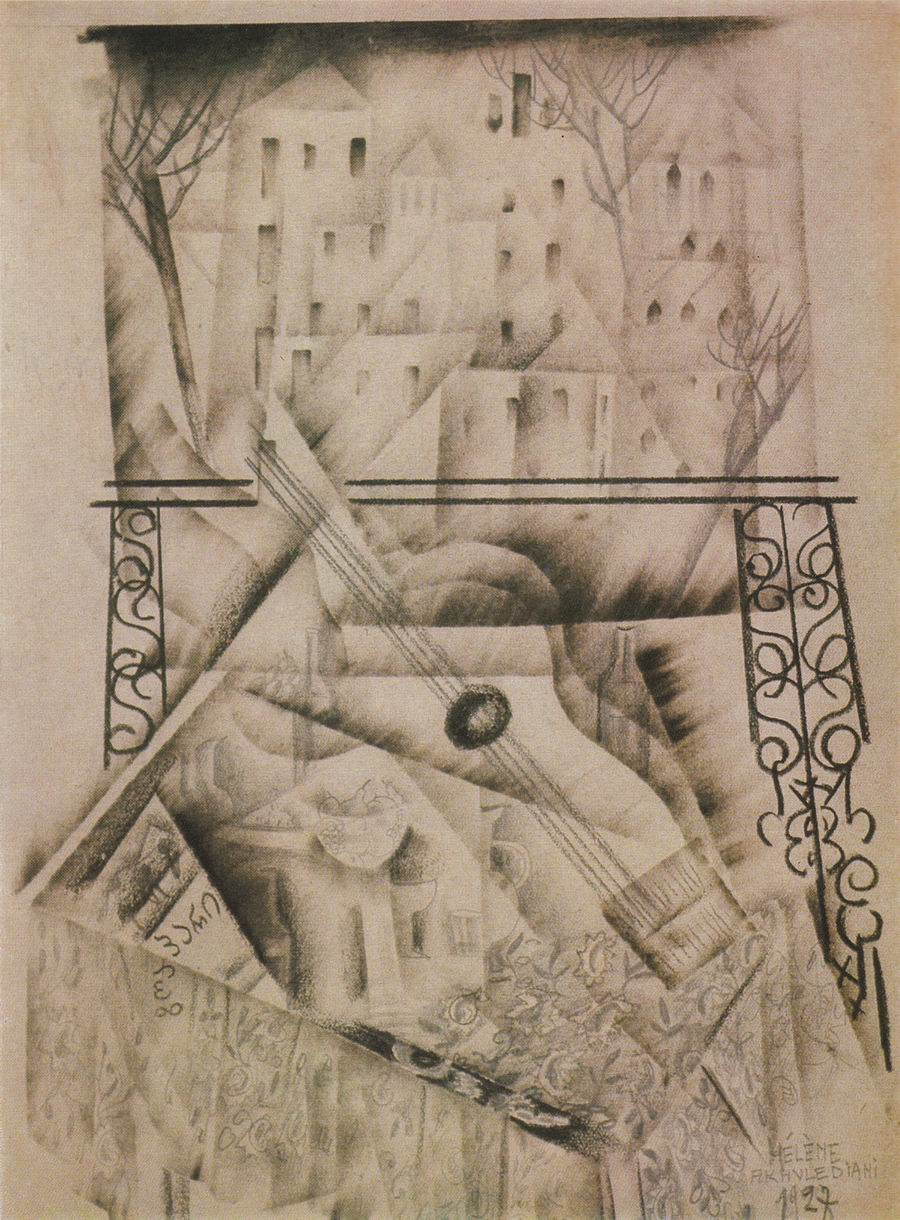 pencil on paper, 24x17, Paris 1928