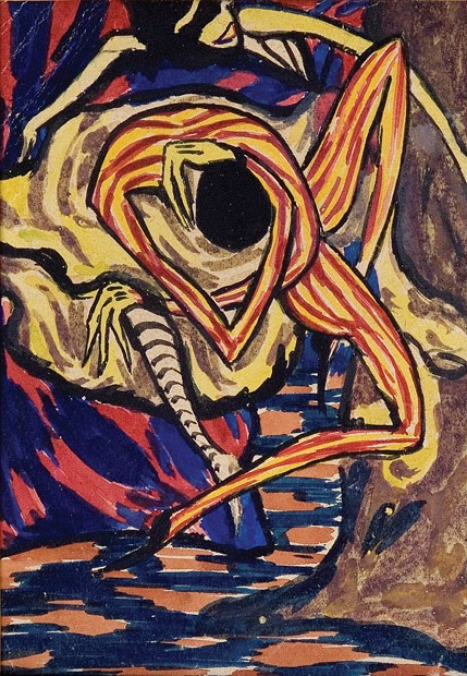 gouache on paper 15X10,5, 1917-21