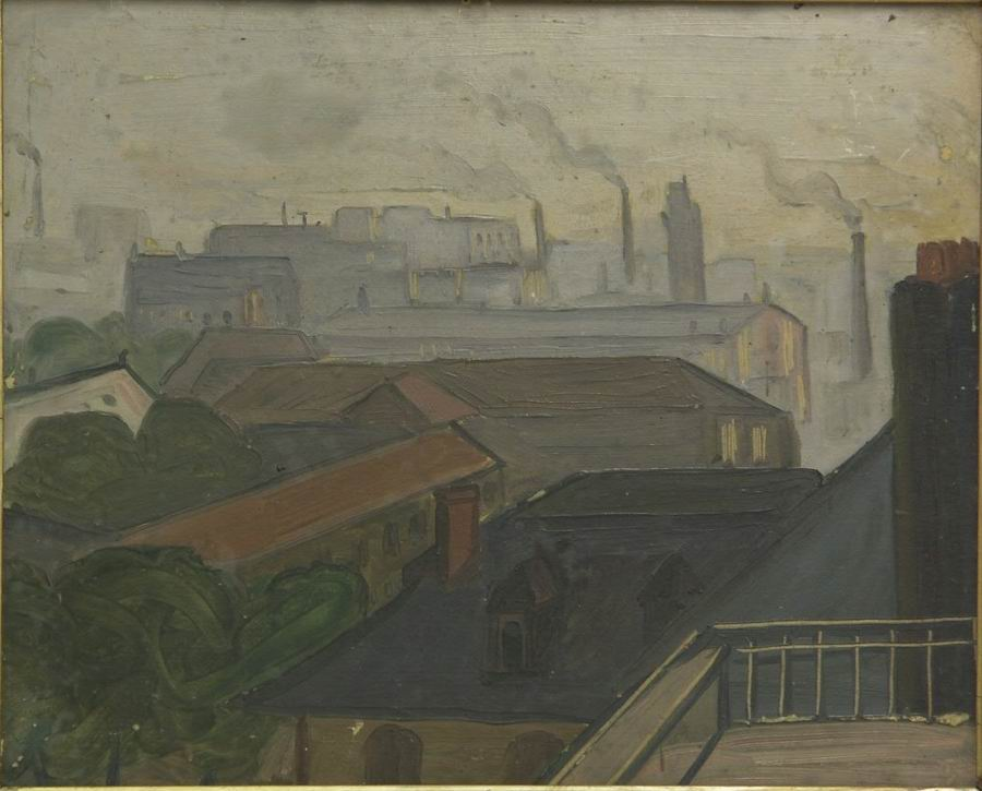 oil on cardboard, 40X33, 1920, Georgian National Museum