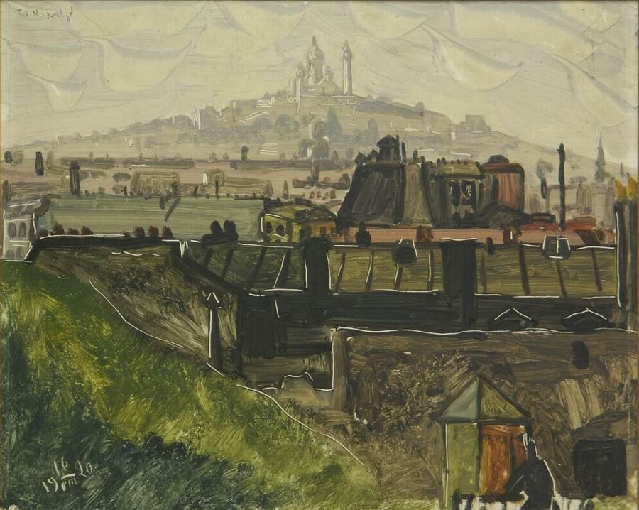 oil on carboard, 32,5X40, 1920, Georgian National Museum